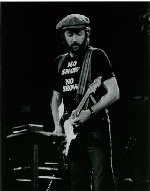 ERIC CLAPTON OAKLAND 1978 CONCERT PHOTO HULST